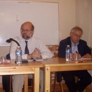 Christian Amalvi, professeur à l'Université Paul Valéry et Daniel Tollet, professeur à l'Université de Paris IV-Sorbonne en 2008