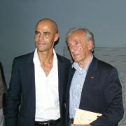 Le Prix Nobel de la Paix Elie Wiesel et Michaël Iancu en 2008