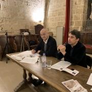 Le journaliste, producteur et philosophe Ariel Wizman, avec Charles Ebguy en 2019