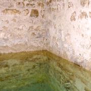 Nappe d'eau du Mikvé (XIIe s.) de Montpellier