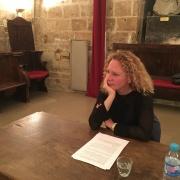 La journaliste Aude Marcovitch en 2015