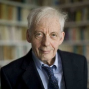L'historien Emmanuel Le Roy Ladurie, professeur honoraire au Collège de France et membre de l'Académie des sciences morales et politiques de l'Institut de France en 2003
