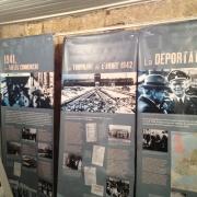 Exposition proposée par l'Office National des Anciens Combattants et Victimes de Guerre, lors du Colloque sur la Shoah en France (2012)