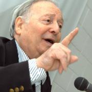 L'historien Marc Ferro en 2002