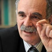 Michel Wievorka, professeur à l'Ecole des Hautes Etudes en Sciences Sociales (avec l'Association pour un Judaïsme Humaniste et Laïque de Montpellier) en 2005