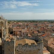 A Narbonne, les Juifs étaient regroupés à la fois dans la Juiverie vicomtale, et dans le quartier plus restreint de la seigneurie archiépiscopale