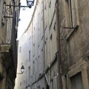 Rue de Ratte dans le Quartier Juif médiéval de Montpellier