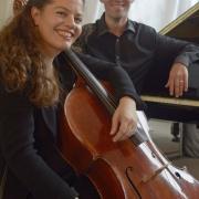 La violoncelliste Sarah Iancu et le pianiste David Bismuth en 2010