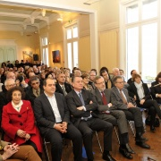 Assistance de la conférence du Grand Rabbin de France Haïm Korsia, le 6 mars 2016 en la Maison des Relations Internationales de Montpellier
