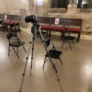 Enregistrement en temps de Covid. Les rencontres et conférences sont désormais enregistrées et diffusées sur YouTube