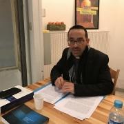 Frère Emmanuel PISANI, dominicain et directeur du Centre Lacordaire de Montpellier en 2017