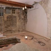 Fouilles archéologiques en la Salle des Trois Arches